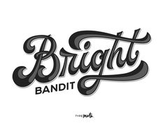 Bright Bandit logo by Typemate