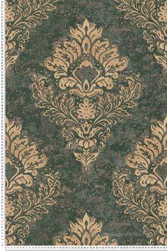 Motif Baroque, Damasks, Stores, Creations, Book, Inspiration, Image, Art, Classic Wallpaper