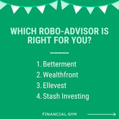 How do you know which robo-advisor is right for you? Below, we review 4 of the most popular options to help you decide! Did You Know, Budgeting, Investing, Popular, Writing, Popular Pins, Budget, Folk, A Letter