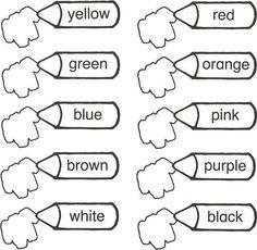 Los colores en Inglés | Maestra de Inicial
