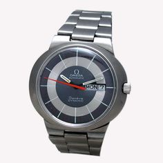 omega geneve automatic watch   OMEGA GENEVE DYNAMIC DAY DATE AUTOMATIC WATCH by wristmenwatches