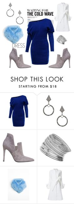"""""""Winter dress under $100 - waiting for the cold wave"""" by julymum ❤ liked on Polyvore featuring WithChic, Miss Selfridge, Kendall + Kylie, Onar and Goen.J"""