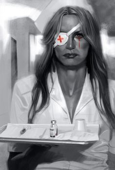Gorgeous Portraits of Movie Characters & Classic Shots (Kill Bill)