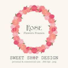 Картинки по запросу flower frame clipart