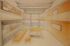 interior perspective design
