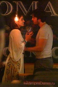 Love Is In The Air ~ Nikki and Ian Somerhalder out on dinner date in Brazil (05/03/15)