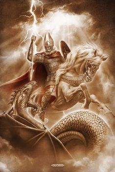 Till game over Norse Mythology Tattoo, Norse Tattoo, Vikings, Viking Pictures, Odin And Thor, Saint George And The Dragon, Lion Photography, Crusader Knight, Viking Culture