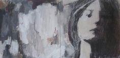 Irina Schuvaloff, with whom I, 2014, mixed media on MDF-board, 16x32