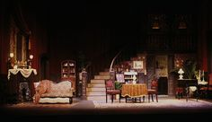 """Gaslight"" Stage Play Set and Lighting Design, Rick Romer"