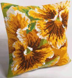 Collection D/'Art Cross stitch Coussin Kit Brady CD5160