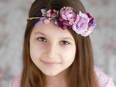♥ Corona de flores ♥ Tiara de flores ♥ Guirnalda ♥