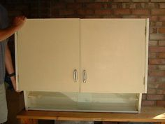 Retro #1950's #kitchen #cupboard wall unit,  View more on the LINK: 	http://www.zeppy.io/product/gb/2/112133521880/