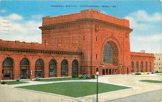 TN-CHATTANOOGA-TERMINAL STATION-MAILED 1949-Q21617