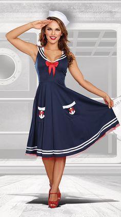 All Aboard Sailor Costume