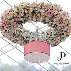 Floral Chandelier #juanpablocamarapf #floralchandelier #flowerchandelier