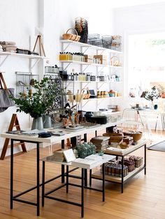 The lofty interior of Showroom, a retail concept store located in Brisbane. Photo – Mindi Cooke for The Design Files.