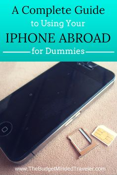 How to use your iPhone overseas - unlocking and using an international SIM, using with WiFi and airplane mode, or applying global data - AND, how to use a dumbphone overseas, too. It's ALL here.                                                                                                                                                      More