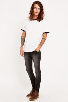 "Cheap Monday – Skinny Jeans ""Tight Base"" in Grau – Herren…"