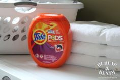 Four Boys and Tide Pods {Plus a $100 Visa Sweepstakes!}