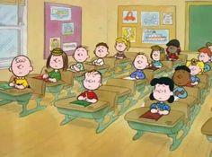:) back to school charlie brown