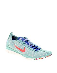 Asos - Nike Exclusive Free Running Spotted Sneakers