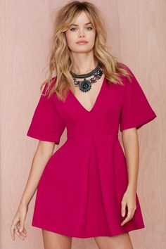 Nasty Gal Carrie Pleated Dress - What's New