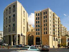 Jerusalem, Israel - Architecture, Mamilla Mall and residences (ממילא), King Solomon Street