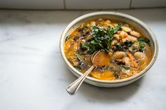 White Chard Stew - An A  white chard riff on a ribollita, using anything and everything on hand. - from 101Cookbooks.com