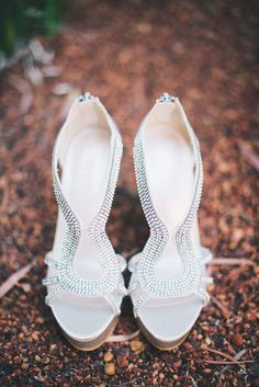 Here's a short list of alternative, fun shoes for brides who hate heels and would prefer something more comfortable, but still classy for their wedding. Bride Shoes, Wedding Shoes, Wedding Dress, Bling Wedding, Glitter Shoes, Sparkly Shoes, Casual Chic Style, Dream Shoes, Shoe Collection