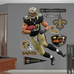 Jimmy Graham - Home, New Orleans Saints Josiah's room