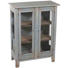 perfect farmhouse cabinet