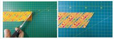 HACER UNA TIRA DE BIES - MIMANA PATCHWORK Plastic Cutting Board, Projects To Try, Sewing, Bandana, Facebook, Scrappy Quilts, Dress, Bias Tape, Sewing Doll Clothes