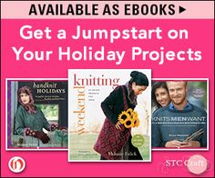 It's time think about holiday knitting! Open Road Integrated Media has a great selection to get you started.