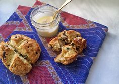 Irish Soda Bread Scones with Sea Salt Whisky Butter