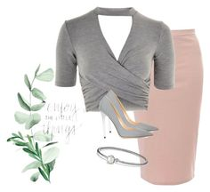 """""""Fun Chic Look! 📿"""" by styleadddict on Polyvore featuring Glamorous, Topshop, David Yurman and Jimmy Choo"""