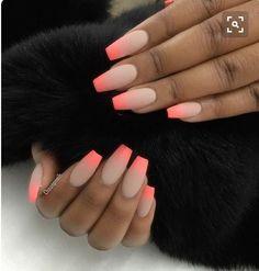 Pinterest : @nadsdev #nails #colour #acrylics