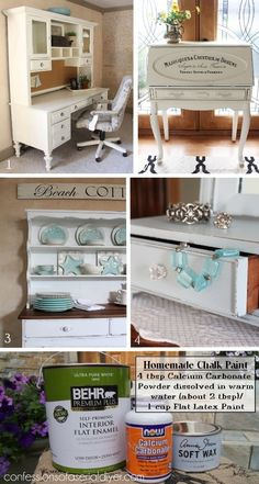 Hello my beautiful friends in blog land! I have a little makeover to share with you today... AND I will also be sharing the recipe for the chalk paint I used to paint it! I've included a few affiliate links so you can find the products I use. I found this little stool at an estate sale for $10: I thought it would be the perfect project to try out DIY chalk paint since if I ruined it, it would be no big loss. It ended up turning out pretty cute: It was really gross before... So anything wo...