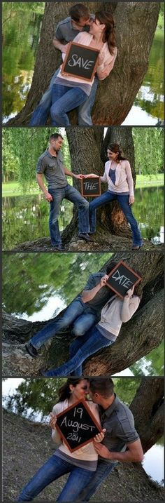 Save the date, chalkboards, could use this with eat drink and be married