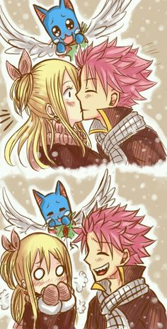 Nalu and does anyone else watch Happy during a NaLu moment?