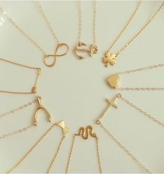 31 best unique necklace styles images on pinterest unique gold pendant simplistic delicate on trend charm necklace aloadofball Gallery