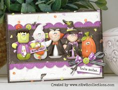 A Halloween Invitation by Mary Fran NWC - Cards and Paper Crafts at Splitcoaststampers