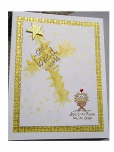 For God So Loved the World by Glittergal - Cards and Paper Crafts at…