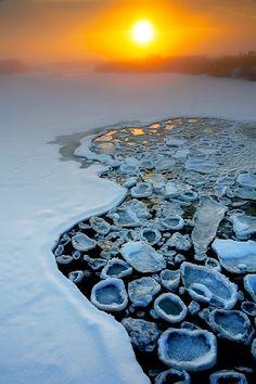 Pancake Ice, Antarctica
