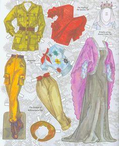 Ava Gardner Paper Dolls