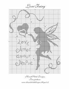 Cross-stitch Fairies - Love Fairy...      HeartStitch Designs: Freebies