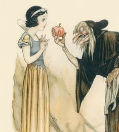 The amazing concept art of Snow White and the Seven Dwarfs Artbook: They Drew as They Pleased: The Hidden Art of Disney's Golden Age Concept art - Articles - Commissions Concept Art World, Disney Concept Art, Disney Art, Snow White 1937, Classic Disney Movies, Art Articles, Walt Disney Animation Studios, Seven Dwarfs, Animation Film