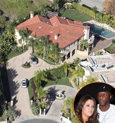 Look Inside Celebrity Homes | X17 XCLUSIVE - First Look At Khloe & Lamar's $4 Million Dollar Tarzana ...