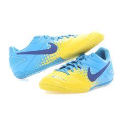 Tênis Nike Mercurial Victory IV Futsal Amarelo e Laranja