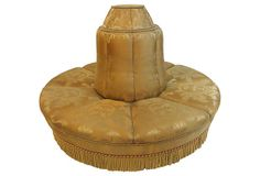 Upholstered Tête-à-Tête don't know where I could put it but I love it 3,000