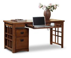 Mission Pasadena laptop desk | HOM Furniture